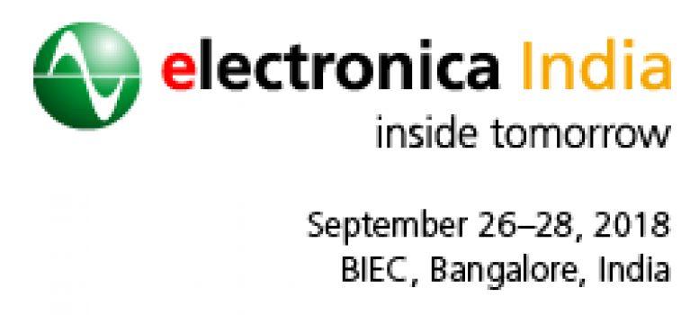 2018印度国际电子元器件及生产设备博览会
